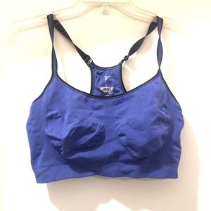 Old Navy XL purple & black sports bra